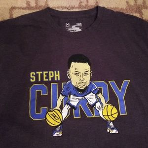 Steph curry under armour t shirt